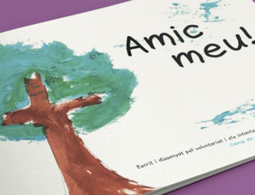 'Amic Meu', un conte fet per nens i nenes refugiades per vendre a Sant Jordi