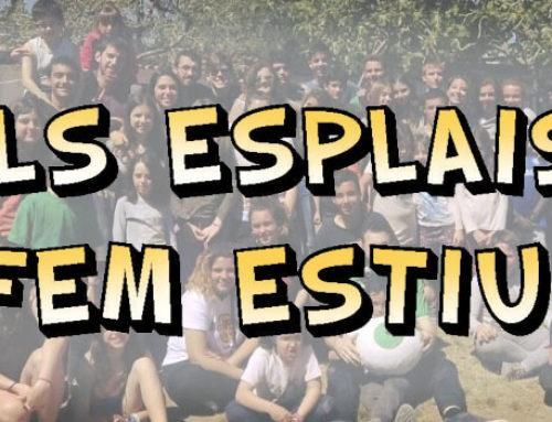 """L'Olivera Rodona guanya el concurs de cartells """"Els esplais fem l'estiu"""""""