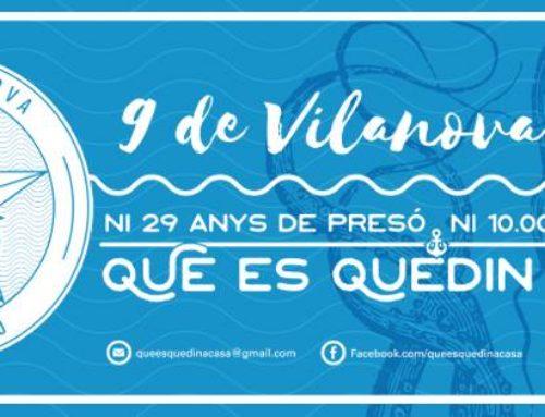 Esplais Catalans dóna suport als 9 de Vilanova