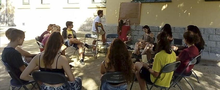 barcelona esplai gràcia trobada sector educació popular lleure cohesió debat