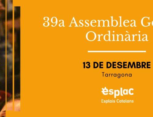 Inscriu-te a la 39a Assemblea General Ordinària d'Esplais Catalans!
