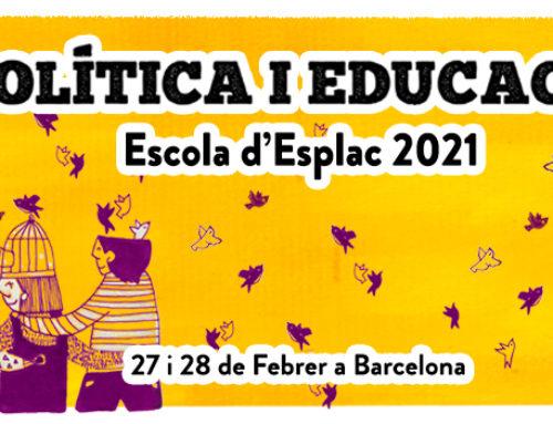 Inscripcions obertes per l'Escola d'Esplac 2021: I tu, en quins valors eduques?