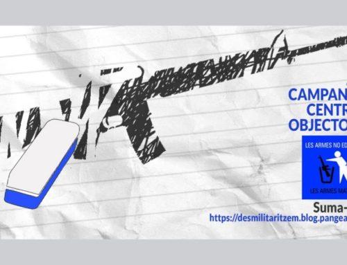 """Voteu l'adhesió a la campanya """"Centres Educatius Objectors"""" de la plataforma Desmilitaritzem l'educació"""
