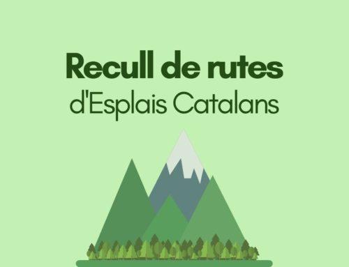 Nou Recull de rutes d'Esplais Catalans!