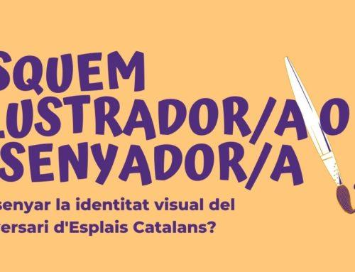 Vols crear la identitat visual del 40è aniversari d'Esplais Catalans?
