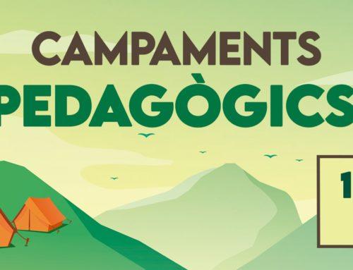 11, 12 i 13 de juny: Campaments Pedagògics d'Esplac 2021!