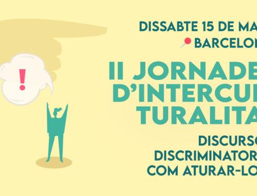 Jornades d'Interculturalitat 2021: Discursos discrimantoris, com aturar-los?