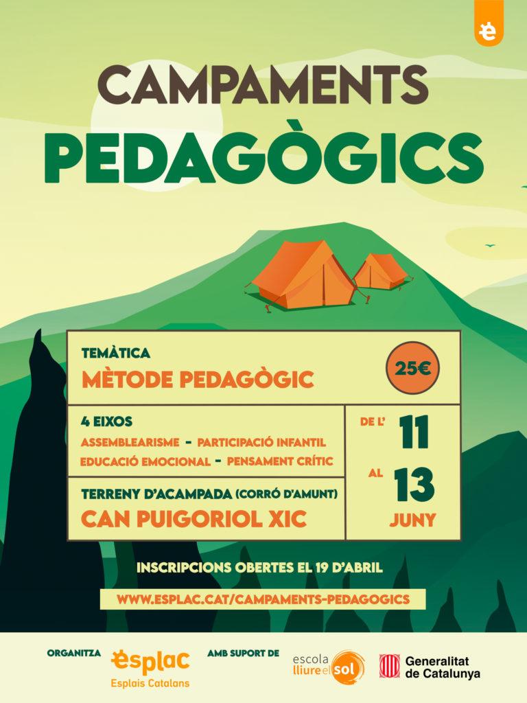 Campaments pedagògics - Esplac