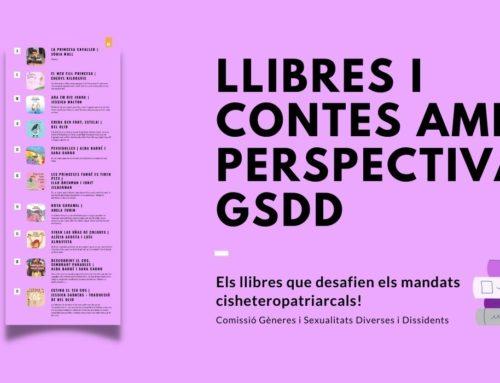 Nou recurs de llibres i contes amb perspectiva GSDD pel Dia del Llibre!