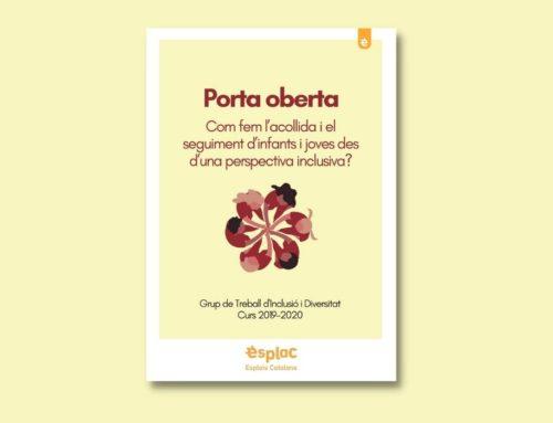 """""""Porta Oberta"""", el recurs pedagògic per fer l'esplai més inclusiu"""