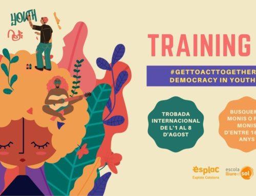 De l'1 al 8 d'agost… Training Course a Saifores!