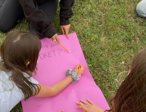 Els infants del projecte Kids Got Right entrevisten al Grup de Recerca en Educació Moral de la UB