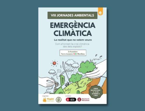 Les VIII Jornades Ambientals d'Esplac abordaran l'emergència climàtica des de la perspectiva del jovent