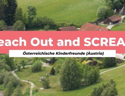 """Participa al seminari formatiu internacional """"Reach Out and SCREAM"""""""