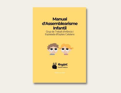 """Us presentem el """"Manual d'Assemblearisme Infantil"""", el nou recurs per generar espais de participació real pels infants!"""